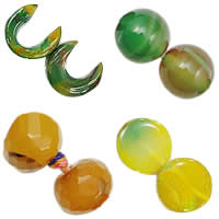 Natural Rainbow Agate Beads