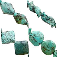Natural African Turquoise Beads