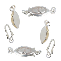 Sterling Silver Fishhook Clasp