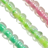 Color Lined Glass Seed Beads