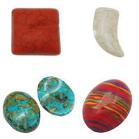 Synthetic Turquoise Cabochon