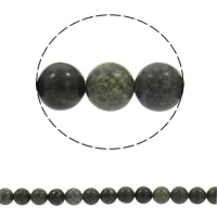Russian Serpentine Beads, Round, natural, different size for choice, Length:Approx 15 Inch, Sold By Strand