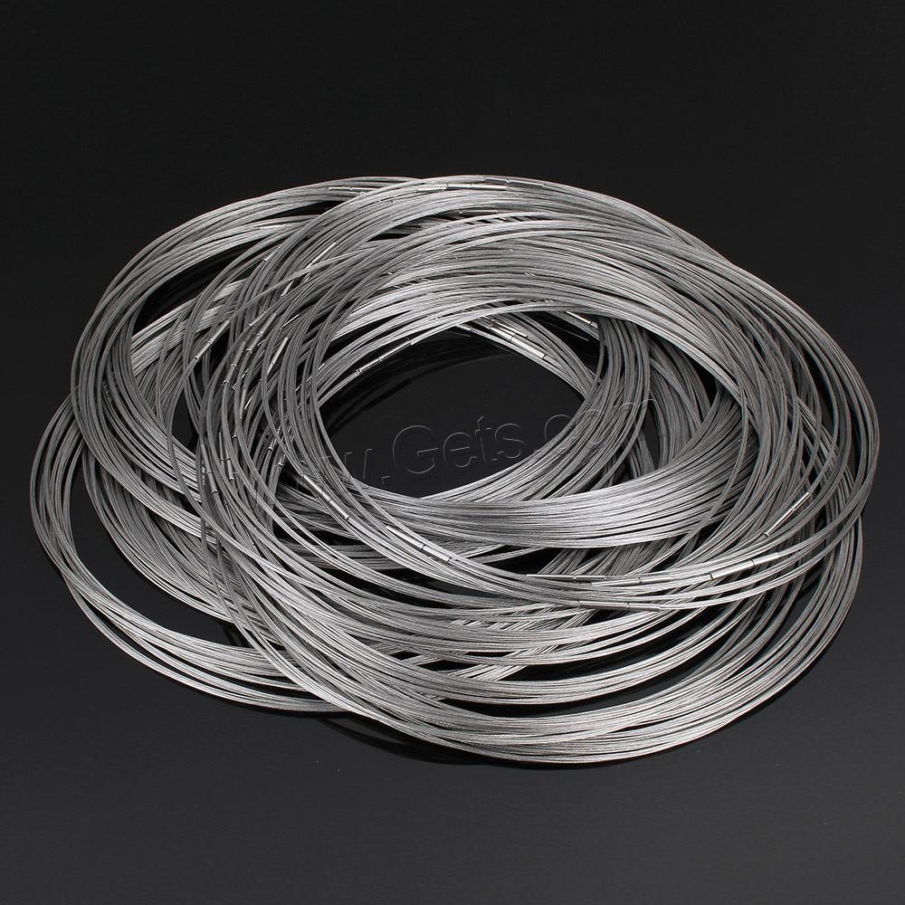 Collar de acero inoxidable cierre goma cable alambre de - Alambre de acero inoxidable ...