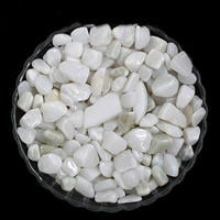 White Chalcedony Bead, Nuggets, no hole, 7-11mm, 50G/Bag, Sold By Bag