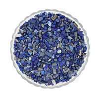 Synthetic Lapis Lazuli Bead, Nuggets, no hole, 7-11mm, 50G/Bag, Sold By Bag