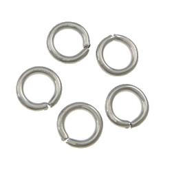 Machine Cut Stainless Steel Closed Jump Ring