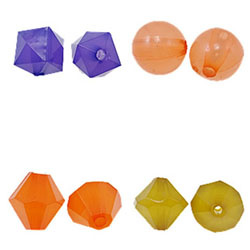 Jelly Style Acrylic Beads