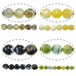 Natural Fire Agate Beads