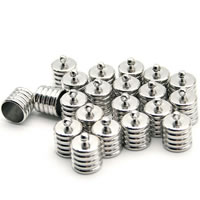 Sterling Silver End Caps