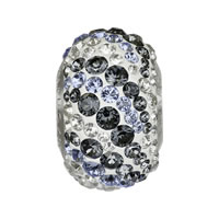 CRYSTALLIZED™ Elements #82023 BeCharmed Pavé Air Crystal Beads