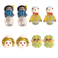 Cartoon Lampwork Beads