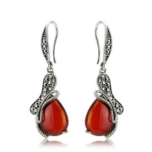 Thailand Sterling Silver Drop Earring